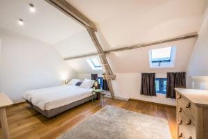 vakantiehuis te huur - ruime slaapkamer