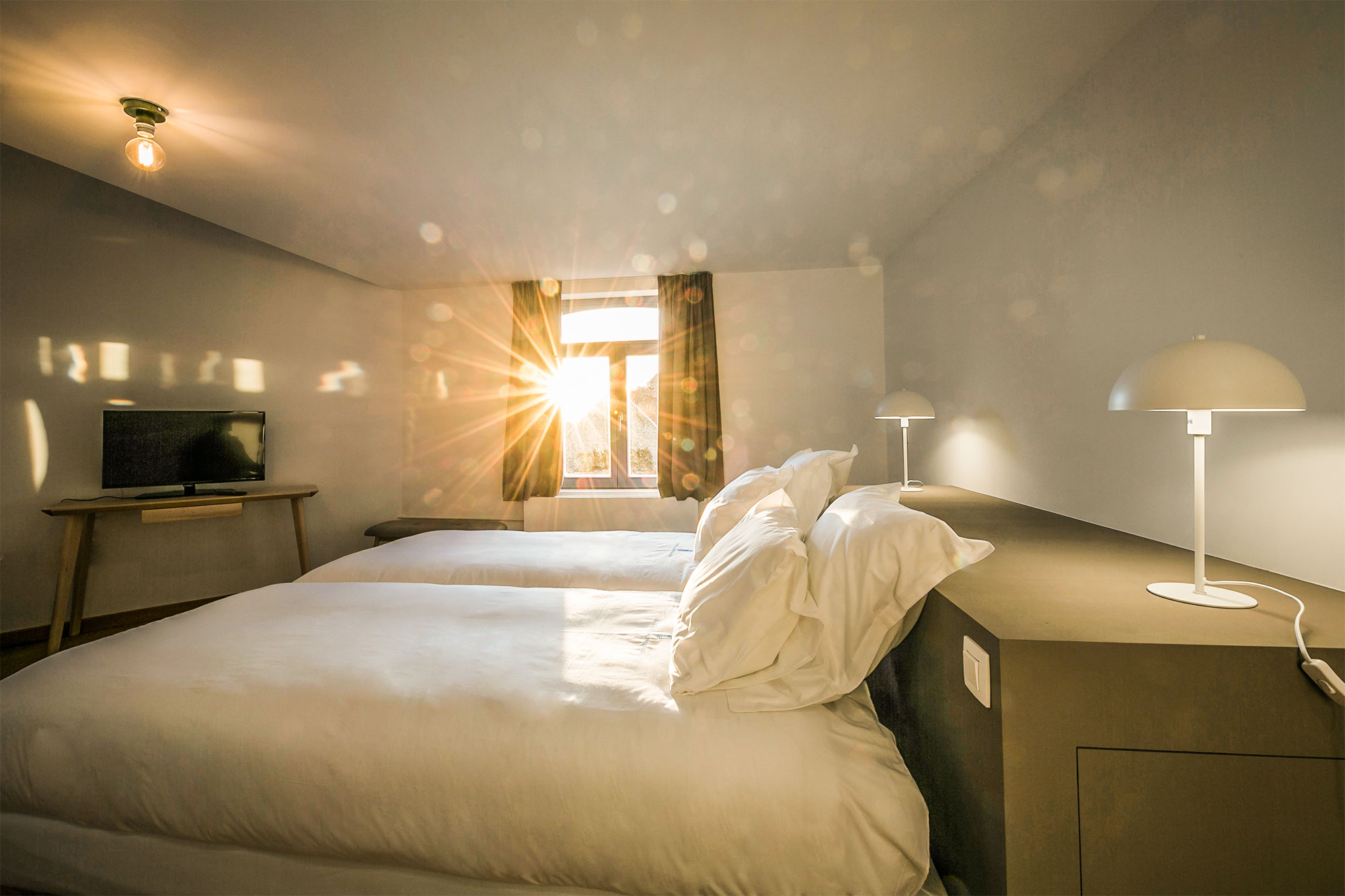 vakantiehuis te huur - moderne slaapkamer