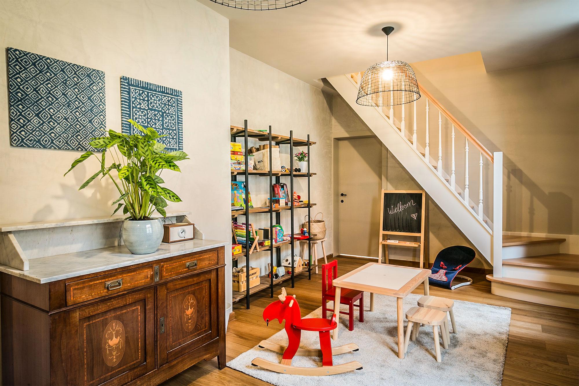 Vakantiehuis te huur - speelkamer met speelgoed